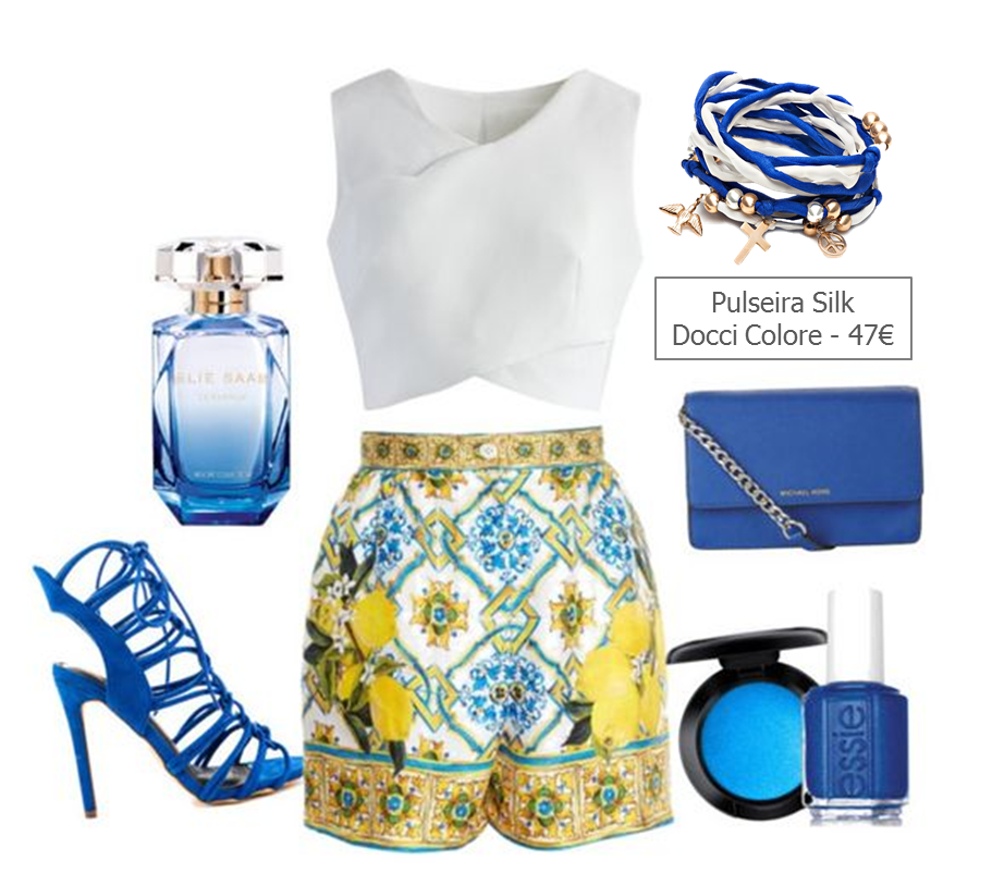 look azul Docci Colore