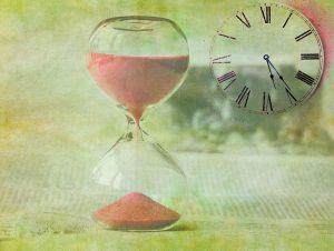 relógios de areia