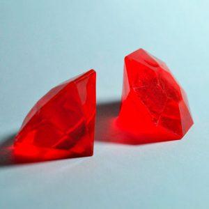 Pedras Preciosas: Moussaieff Vermelha